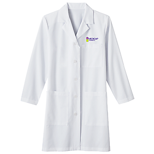 "Ladies 37"" Long Labcoat"