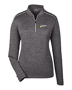 Ladies Performance Quarter-zip