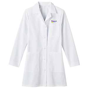 "Ladies 34"" Mid-Length Labcoat"