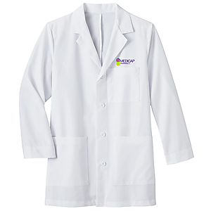 "Men's 34"" Mid-Length Labcoat"